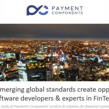 PaymentComponents for APIs and fintech