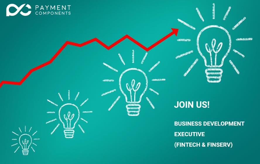 Business Development Executive for PaymentComponents for Fintech, Finserv
