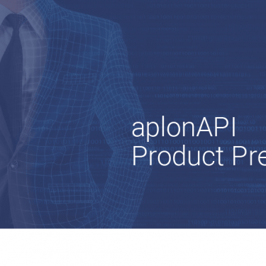 PSD2, APIs, open banking, aplonAPI